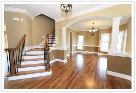 home with hardwood floor